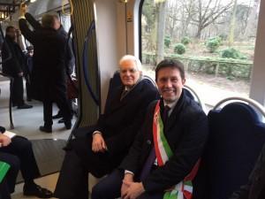 Presidente Repubblica Mattarella su tramvia (9)