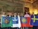 Al Sindaco le bandiere dei 4 rioni del Calcio Storico