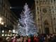 Sindaco Nardella con Babbi Natale ha acceso il Natale a Firenze