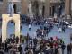 G7 Cultura: l'Arco di Palmira in Piazza della Signoria