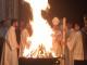 Veglia Pasquale del Sabato Santo a Firenze con Fuoco Scoppio del Carro 2017