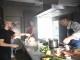 Caterina Murino, lo chef Rugiati e Tristano in un corto toscano