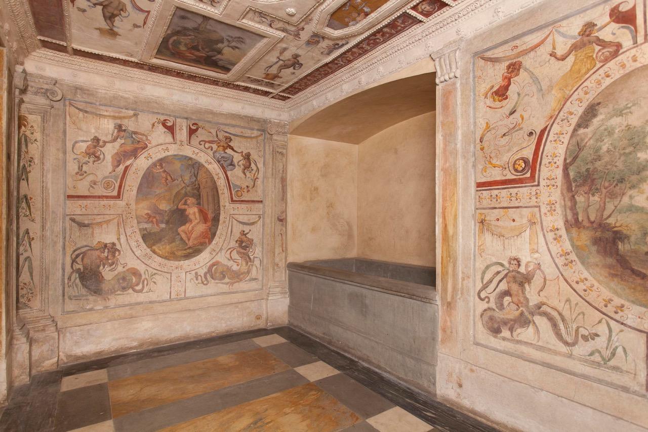 Restaurata la spa di cosimo a palazzo vecchio la - Palazzo turchi di bagno ...