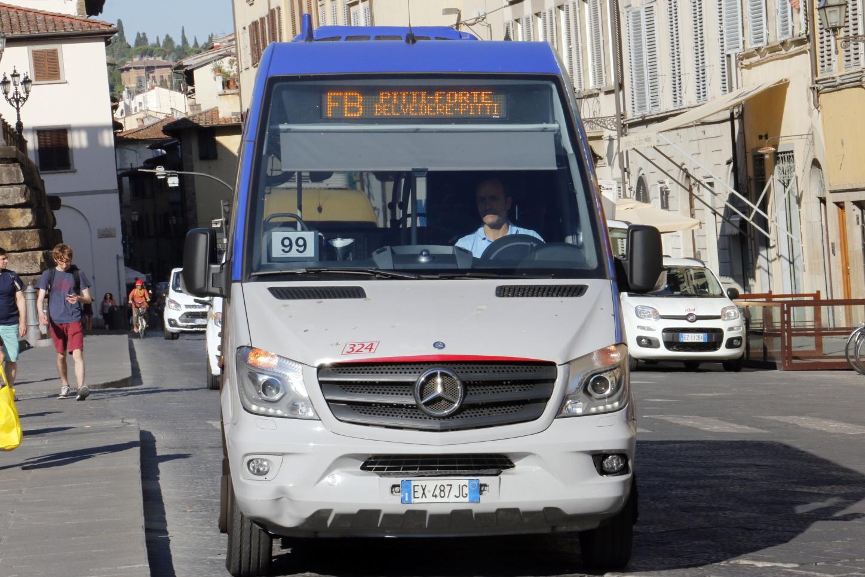 Nuova Linea Ataf Fb Per Forte Di Belvedere E Villa Bardini