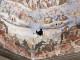 Monitoraggio interni Duomo con gli alpinisti che si calano dalla Cupola