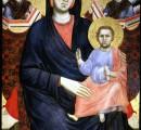 La Madonna di Giotto ora esposta al Museo dell'Opera del Duomo
