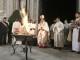 Scoppio del Carro di Firenze 2018: accensione del fuoco santo nella veglia del Sabato Santo