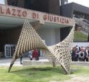 Inaugurate cinque opere d'arte al Palazzo di Giustizia