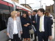 La Commissaria Ue in viaggio col Sindaco e il Presidente Rossi sulla Tramvia