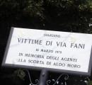 A Firenze un giardino per le vittime della scorta dell'On. Aldo Moro