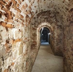 I camminamenti sotterranei della Fortezza di San Giovanni
