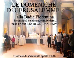 Comunità monastica gerusalemme Badia Fiorentina