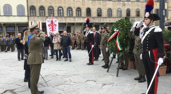 Celebrata il 4 novembre la Giornata Nazionale delle Forze Armate