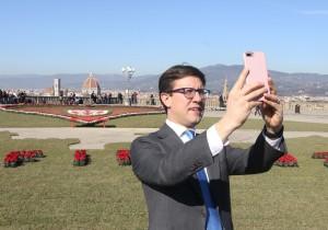 Sindaco Nardella selfie