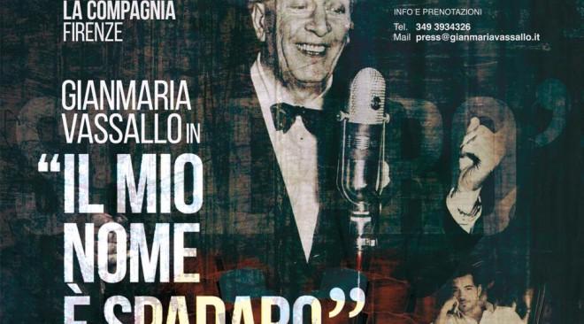 """Teatro La Compagnia: debutta """"Il mio nome è Spadaro"""""""