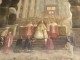 Affresco Corte Papale 1933 nella chiesa di San Giuseppe a Firenze