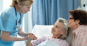 anziani in ospedale