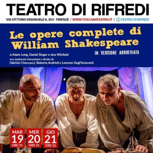 Le opere complete di William Shakespeare - in versione abbreviata