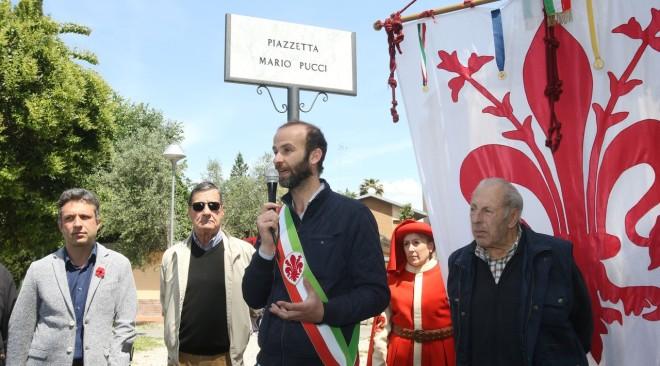 Intitolata a Mario Pucci la piazzetta dell'Audace Legnaia