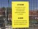 Cartello indica semaforo emergenza che però non c'è su Ponte Vespucci a Firenze