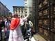 Inaugurata la copia in bronzo della Porta Sud del Battistero