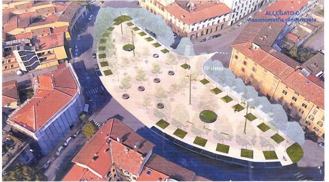 Tra quattro mesi la nuova piazza Pier Vettori