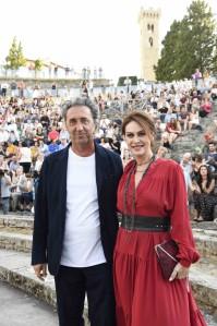Paolo Sorrentino e Elena Sofia Ricci_Premio Fiesole