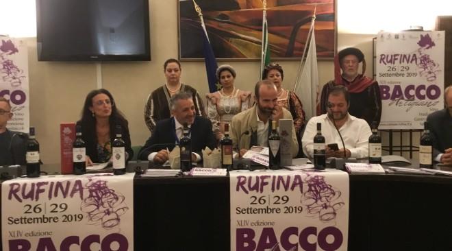 Presentato a Palazzo Vecchio il 44° Bacco Artigiano Rufina – Firenze 2019