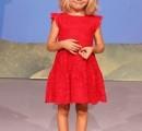 La piccola Irene Lucarelli, di 4 anni, allo Zecchino d'Oro su Rai 1