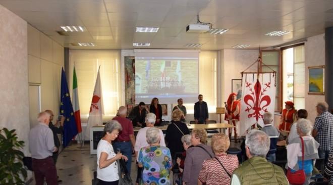 Il Gonfalone del Comune per la prima volta al Quartiere 5 per ripercorre i 115 anni del Gonfalone