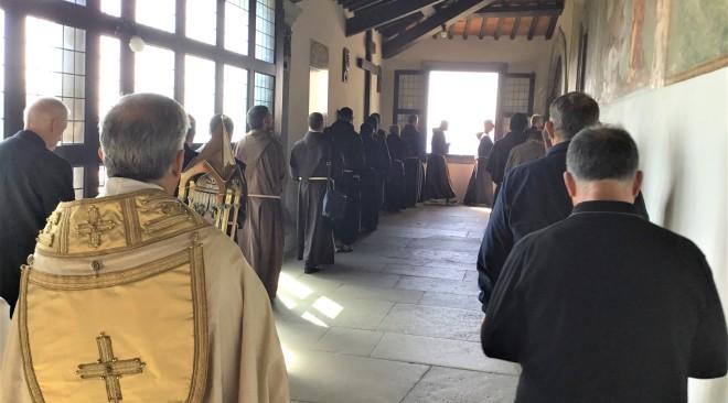 L'Ora Nona al Santuario de La Verna con il Comune di Firenze