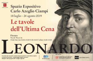 mostra Leonardo Le tavole dell'Ultima Cena