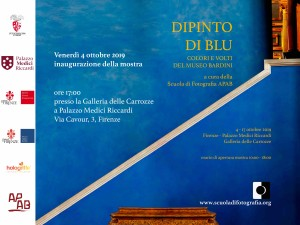 Dipinto di Blu Colori e volti al Museo Bardini