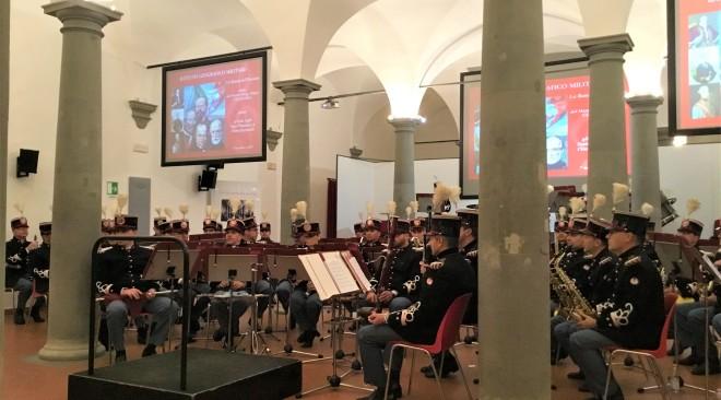 Concerto della Banda dell'Esercito a Firenze