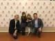 La fiorentina Irene Lucarelli, 4 anni, dello Zecchino d'Oro 2019 ricevuta in Palazzo Vecchio