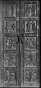 Porta dei Martiri basilica San Lorenzo