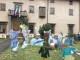 Il Presepe artistico del Gruppo Donatello al Quartiere 2 in piazza Alberti