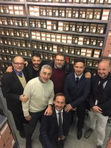 Commissione cultura all'archivio storico