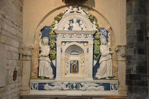 Tabernacolo Andrea Della Robbia Santissimi Apostoli (5)