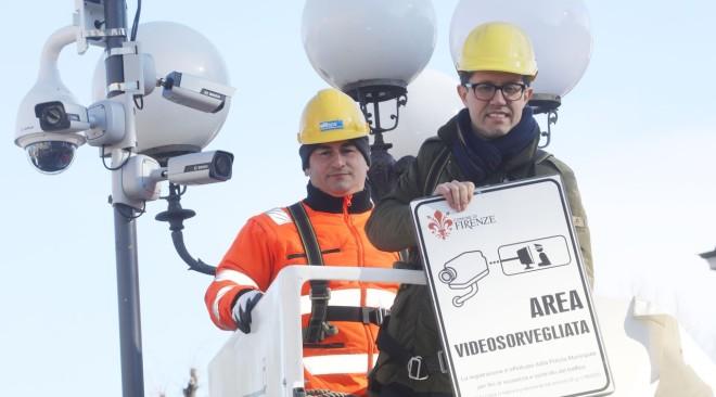 Inaugurata la millesima telecamera di videosorveglianza in città
