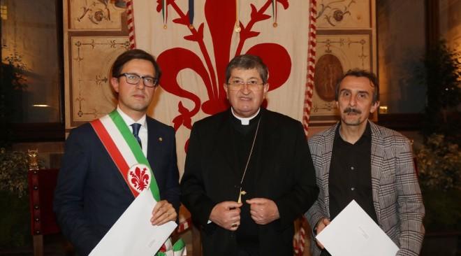 Il Messaggio della Pace 2020 di Papa Francesco consegnato a Palazzo Vecchio