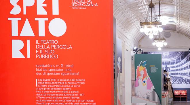 """""""Spettatori. Il Teatro della Pergola e il suo pubblico"""", 300 anni di storia in mostra"""