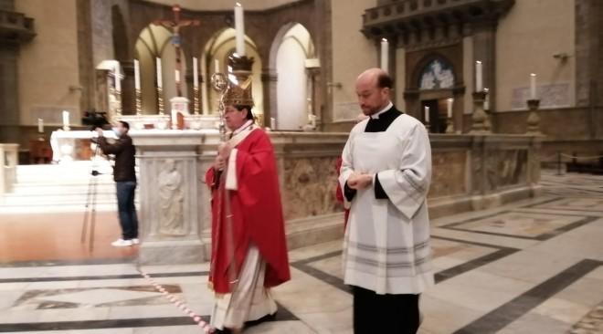 Domenica delle Palme senza popolo per il Cardinale Betori in piena emergenza Coronavirus