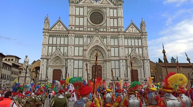 Consegnati i Fiorini d'Oro di Firenze per la festa del Patrono San Giovanni Battista