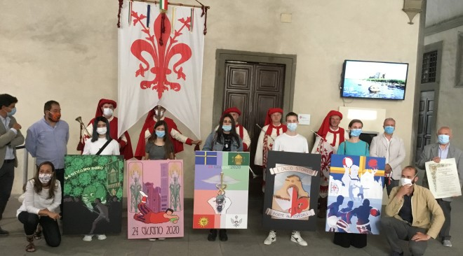 Calcio Storico Fiorentino 2020: Quadri per un San Giovanni solidale