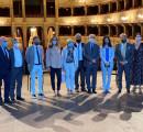 Il Ministro Lucia Azzolina in visita al Teatro della Pergola