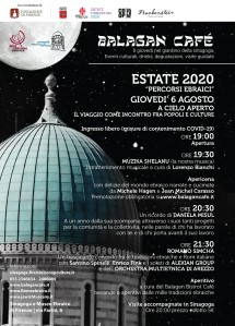 ESTATE 2020 IN SINAGOGA