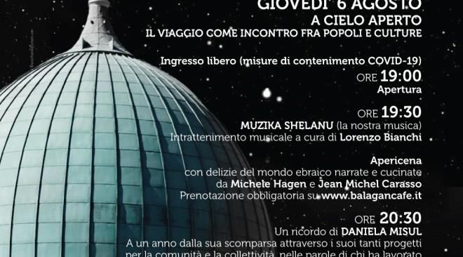 Dal 6 agosto e per quattro giovedì kermesse estiva presso la Comunità Ebraica di Firenze