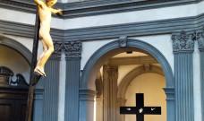 Il mistero della Croce di Puglisi fino al 1 novembre nella Basilica di Santo Spirito