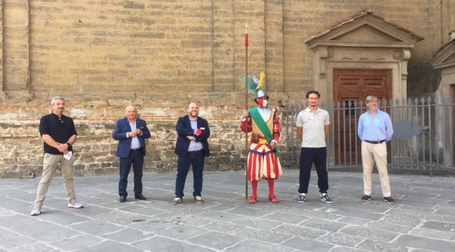 Fratres sponsor delle divise dei Fanti dell'Ordinanza del Corteo Storico Fiorentino